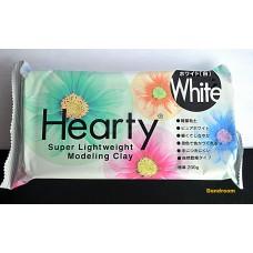 Пластика самозатвердевающая, Hearty, Белая, 200 г, Padico