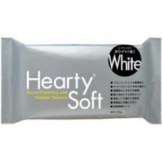Пластика самозатвердевающая Hearty Soft, Белая, 200 г, Padico