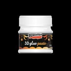 Клей (паста) для потали с 3D эффектом, 50 мл, Pentart