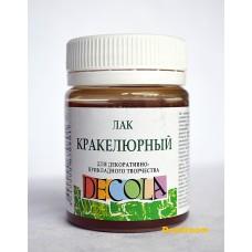 Лак кракелюрный ДЕКОЛА, 50 мл