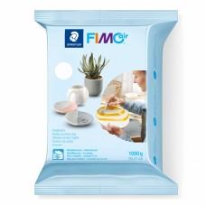 Пластика самозатвердевающая, белая, Fimo Air 1 кг