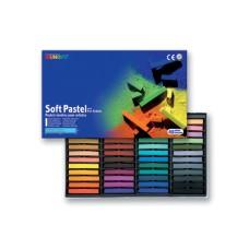Пастель сухая, профессиональная, мягкая, 48 цветов, квадратная, MP-48, MUNGYO