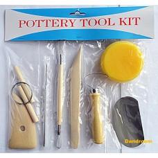 Набор инструментов для скульптуры, 8 шт., D.K.ART AND CRAFT
