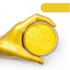 Аквагрим для лица и тела, Желтый перламутровый, 30 г, Borrence
