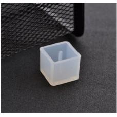 Молд силиконовый для бусин, Куб, 14 мм