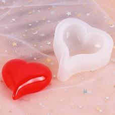 Молд силиконовый, сердце M