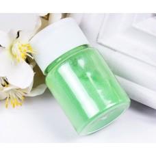 Перламутровый пигмент для эпоксидной смолы, Зеленый светлый (090), 20 г