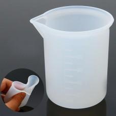 Силиконовый мерный стаканчик для эпоксидной смолы, 100 мл