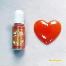 Краситель для эпоксидной смолы, Оранжевый, 10 г